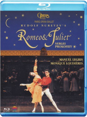 Romeo and Juliet: Paris Opera Ballet (Prokofiev) Blu-ray NUEVO