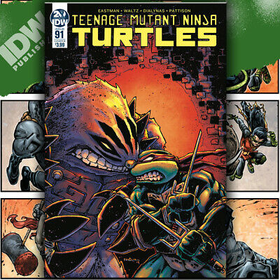 Tmnt, Teenage Mutant Ninja Turtles Ongoing #91 Eastman Idw