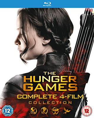 Hunger Games Complete 1-4 Coll Bd Blu-Ray NUOVO