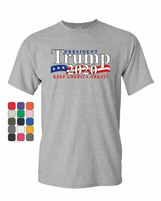 President Trump T-Shirt 2020 Keep America Great The Donald MAGA Mens Tee Shirt