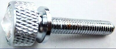 screw set (6) long clear jewels knurled head for Kenworth 1982-2001