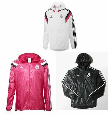 ADIDAS REAL MADRID Anthem Tous Temps Jaquette Hommes Football Ballon