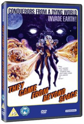Robert Hutton, Jennifer Jayne-They Came from Beyond Space DVD NUEVO