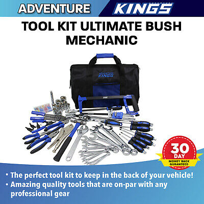 All In One Bush Mechanic Kit Toolbox DIY Set 150 Piece