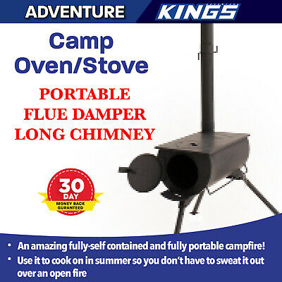 Camp Oven Stove Camp Cooking New Portable Park Picnic Cooking Chimney