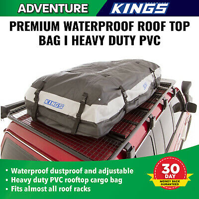 Waterproof 4WD Car Roof top Bag Cargo Carrier Luggage Storage Travel Outdoor