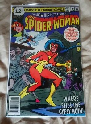 SPIDER-WOMAN #10 (vol 1) 1978 MARVEL COMICS
