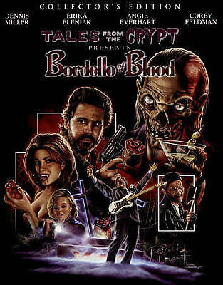 Tales from the Crypt - Bordello of Blood (Blu-ray Disc, 2015) BRAND NEW