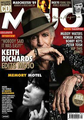 Mojo Magazine + Cd April 2019 (Keith Richards, Dexys, Muddy Waters, Madchester)