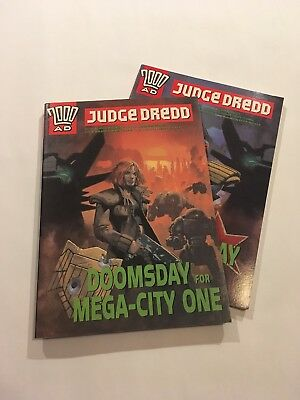 Doomsday For Megacity One And Dredd - Softcover Bundle - John Wagner - 2000AD