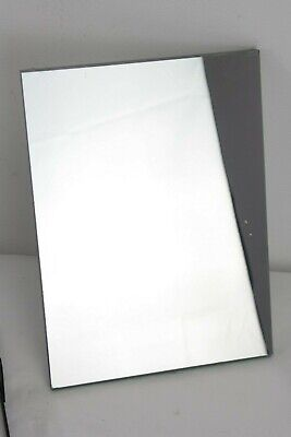 LARGE first/front surface mirror  ONE CM THICK glass base, approx 27x20cm