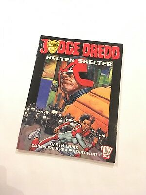 Judge Dredd - Helter Skelter Softcover Book - Garth Ennis & Carlos Ezquerra