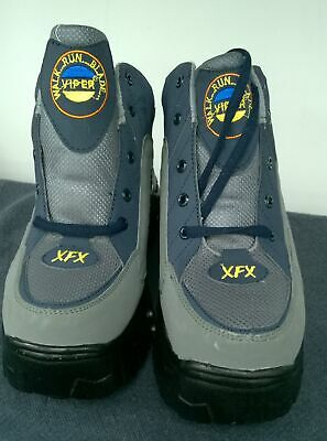 Viper Tornado Shoes Heely Boots Size UK 6  Grey/Blue #845