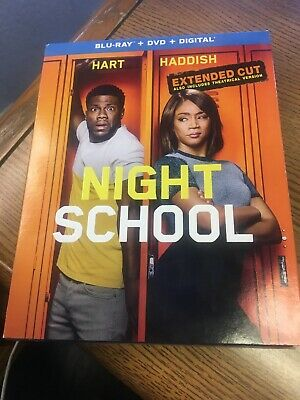 Night School (Blu-ray Disc Only With Case And Cover, 2019) No Dvd Or Digital