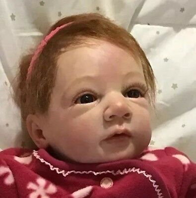 . READY2GO,Reborn Baby ,Felix,By Linde Scherer,❤️.Rooted Hair. Orders Taken