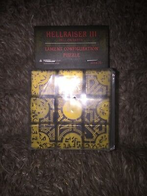 Hellraiser 3 lament configuration puzzle box. HELL ON EARTH!!!!! New 1 left