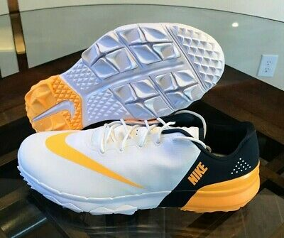 5197d150f64a6c Nike FI Flex Free Inspired Spikeless Men s Golf Shoes White 849960-102 Size  12