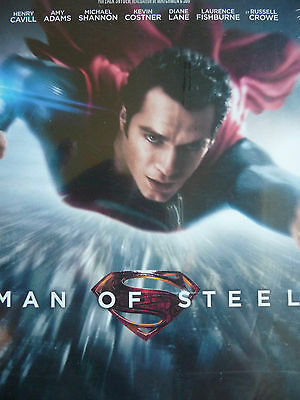 DVD   -  MAN OF STEEL    -    ( H. Cavill / K. Costner )  NEUF cellophané