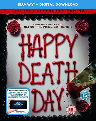 Happy Death Day (BluRay  digital download) [2017] [DVD] 5053083137168