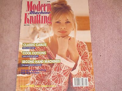 Knitting Machine Magazine/ Book: Modern Machine Knitting May 1991