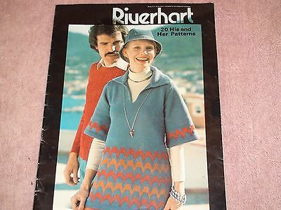 Knitting Machine Magazine/ Book: Riverhart His And Hers Patterns