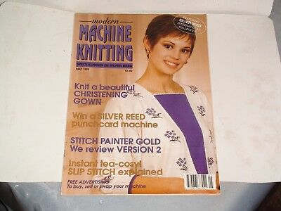 Knitting Machine Magazine/ Book: Modern Machine Knitting May 1995