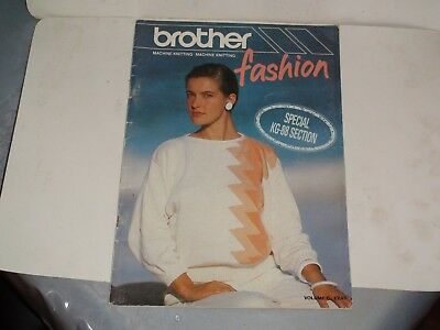 Knitting Machine Magazine/ Book: Brother Fashion Vol 6