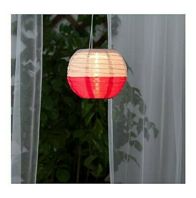 LED solar-powered pendant lamp, outdoor, patio and balcony, SOLVINDEN