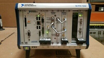 National Instruments NI-PXI-1042 with Modules READ!