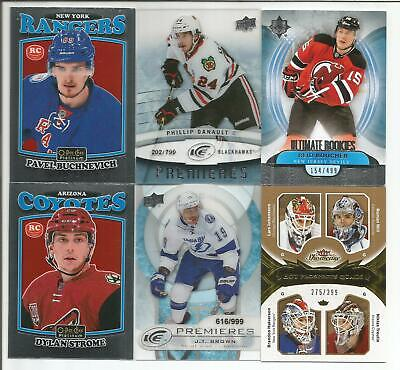 All Rookie 12 Card Lot Pavel Buchnevich Phillip Danault Dylan Strome Kassian +++