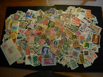 Used Lot Of 1000 Stamps Around The World,  Nice $$$  #f-6