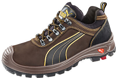 17ff08bf658 Puma Safety Brown Mens Leather Sierra Nevada Low EH WRU LaceUp Work Boots