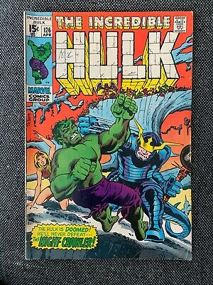The Incredible Hulk #126 (1970) The Night Crawler