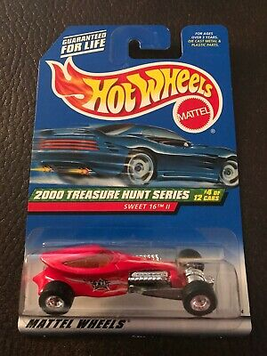 Hot Wheels 2000 Treasure Hunt Series #4 of 12 Cars-Sweet 16 Rubber Tires