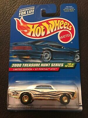 Hot Wheels 1967 Pontiac GTO 2000 Treasure Hunt Series