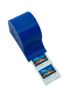 Wall mounted coil stamp dispenser : holder, mountable, roll, 100 count, hangable