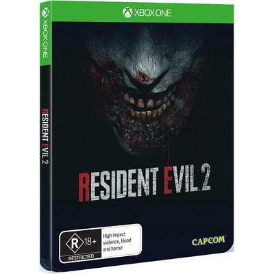 Resident Evil 2 Remake Steelbook Edition. Xbox One. Brand New Sealed! Pal