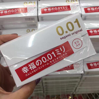 sagami original 001 5pcs Ultra Thin Condom 0.01mm Import Japan