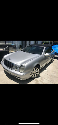 Mercedes Benz convertible clk430