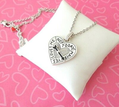 Brighton Necklace Heart Spinner Maybe Yes No Cupid New item tags 58.00