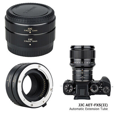 Automatic Extension Tube for Fujifilm X Mount X-H1 X-T100 X-A10 X-A5 X-A3 X-E3