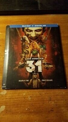 Rob Zombie's 31 Blu-ray Slipcover Only