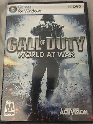Call of Duty: World at War - PC Includes Manual.