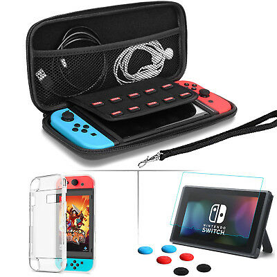 XNTBX Crystal Case for Switch NW Blue