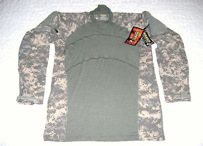a420b9102128 MASSIF US MILITARY Army Issue Combat Shirt Acu Size Small -  12.99 ...