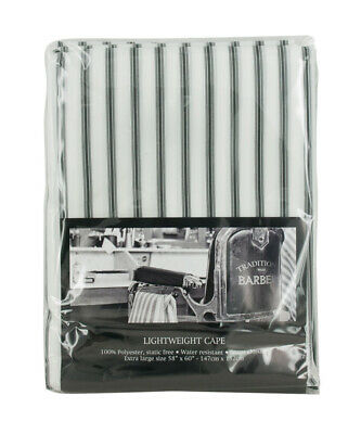 Wahl Light Weight Barber Cape White with Pin Stripe