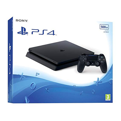 DND 59815 Sony Computer Ent. PS4 Console 500GB F Chassis Slim Black