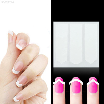 9D2D Polish Nail Art Decals Stickers French Foils Adhesive Fashion Women Beauty
