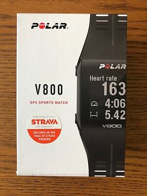 Polar Unisex Adults V800 GPS Multi-Sports Watch With Heart Rate Monitor