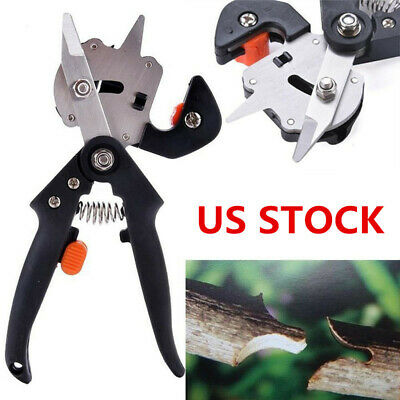 Shears Grafting Cutting Garden Nursery Fruit Tree Pro Pruning Scissor Tools Sets